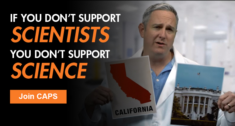 If you don't support SCIENTISTS, you don't support SCIENCE | Join CAPS